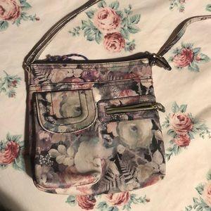 Handbags - Floral purse with adjustable strap